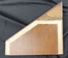 RMS Olympic 2nd Class Staircase Panel Upper Section