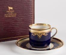 RMS Olympic/Titanic Presentation Spode Cup & Saucer