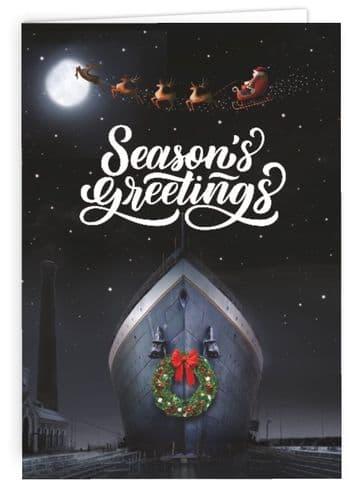 RMS Titanic Christmas Card