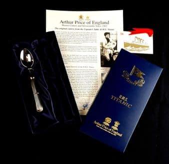 RMS Titanic Commemorative Limited Edition Millvina Dean Spoon
