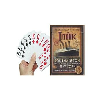 RMS Titanic - Pack of Playing Cards