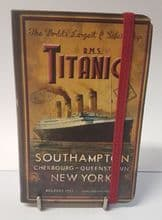 RMS Titanic Personal Notebook