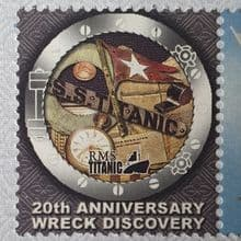 Titanic Discovery 20th Anniversary Series First Day Covers
