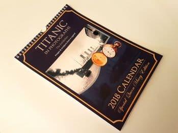 Titanic in Photographs 2018 Calendar