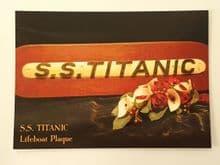 Titanic Lifeboat Plaque