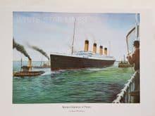 Titanic Maiden Departure
