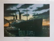 Titanic & Nomadic at Cherbourg