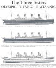 Titanic, Olympic & Britannic