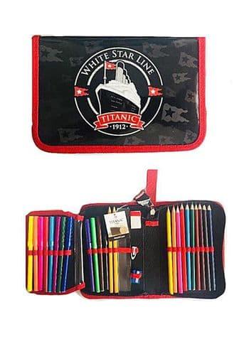 Titanic Pencil/Pen set