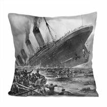Titanic 'Sinking' Image Cushion Cover