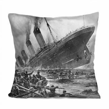 Titanic 'Sinking' Image Cushion Cover