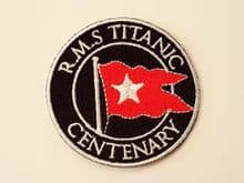 Titanic / White Star Line Patch Badges
