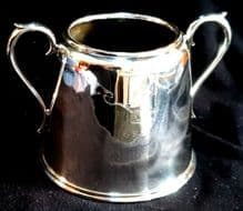 White Star Line 2nd Class Dining Large Sugar Bowl