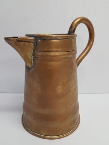 White Star Line Brass Water Jug