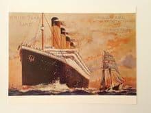 White Star Line - Olympic / Titanic Advert