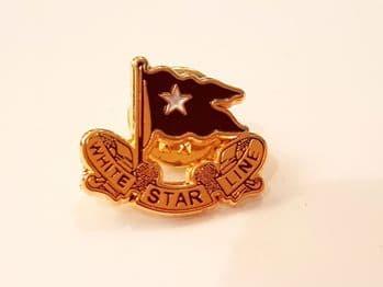 White Star Line Pin Badge