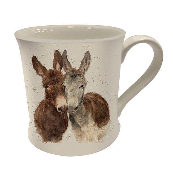 Bree Merryn Ceramic Countryside Jack & Diane Donkey Friends Tea/Coffee Boxed Mug 8.5x8cm