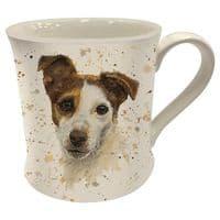 Bree Merryn Ceramic Jake the Jack Russell Tea/Coffee Boxed Mug Gift 8.5x8cm