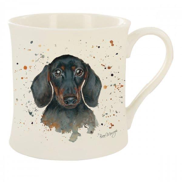 Bree Merryn Fine China Sid Dachshund Dog Tea/Coffee Boxed Mug 8.5x8cm