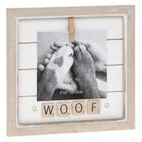 Farmhouse Freestanding Wood Scrabble & Peg