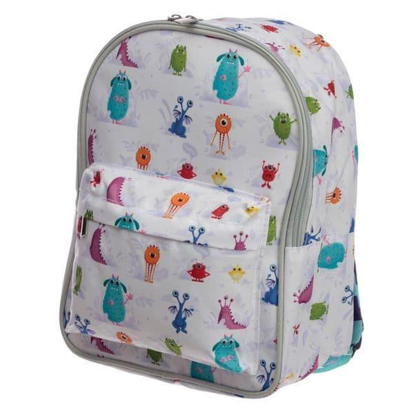 Monstarz Monster Colourful Toddler Children Ruck Sack Backpack School Bag 28cm