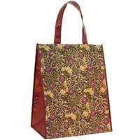 William Morris Seaweed Reusable Travel Foldable Tote Shopping Bag 35x19x40cm