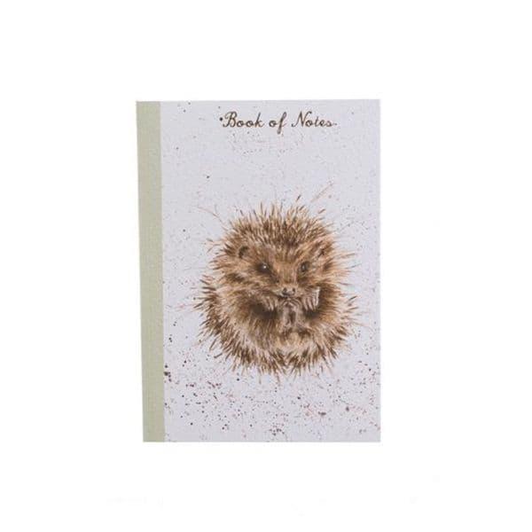 Wrendale Design Awakening Hedgehog Notebook A6 Lined Pad FSC Paper 15x10.5cm