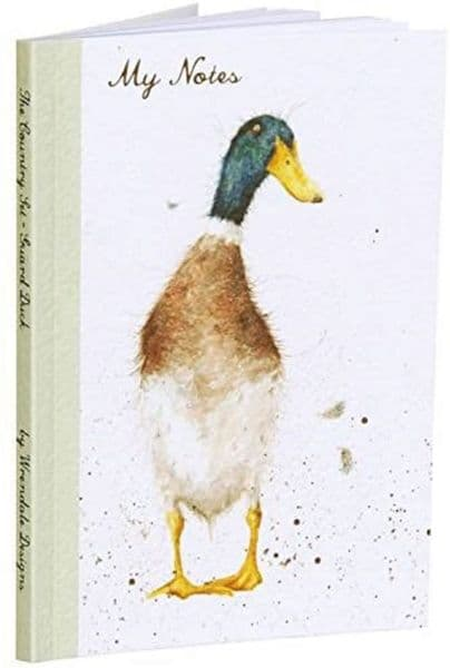 Wrendale Design Guard Duck Notebook A6 Lined Pad FSC Paper 15x10.5cm