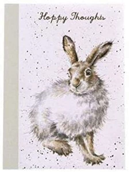 Wrendale Design Mountain Hare Notebook A6 Lined Pad FSC Paper 15x10.5cm