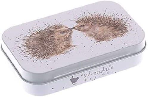 Wrendale Designs Country Hedgehog Hedgehugs Keepsake Gift Mini Tin 9.5x6x2cm