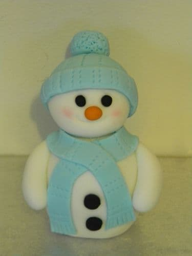 Christmas Snowman, Snowflakes & Merry Christmas Letters