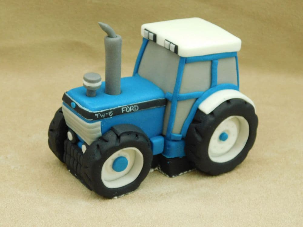 Ford Tractor Cake Topper