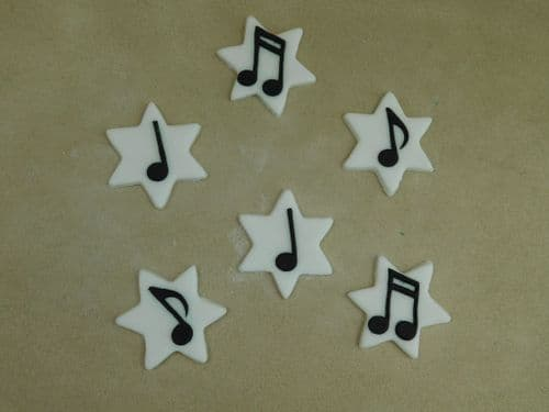 Music Notes on Stars