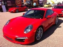 1 Litre Neat Cellulose Porsche Guards Red Car Paint Celly High Gloss FREE POST
