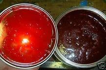 1.5 litres TVR Candy Apple Red 2K Gloss Bike Car Paint Direct Gloss Candies