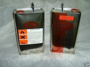 10 Litres Standard Cellulose Thinners / Gunwash IDEAL FOR PRIMER FREE CARRIAGE