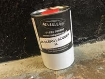 1L 2K Gloss 2 Pack Acrylic Clear Lacquer HI GLOSS 2 COMPONENT FREE CARRIAGE