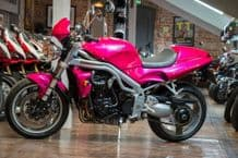 1lt RFU TRIUMPH CQ NUCLEAR RED basecoat 3 stage ready for use pink bike paint