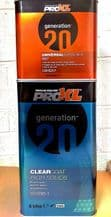 5lt Pro XL 2K Clear Lacquer Generation 20 FREE 2.5lt 2k Activator Crystal Clear