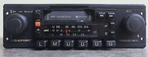 (81-84) BLAUPUNKT  MR 21 4xSTEREO FM RADIO CASSETTE PORSCHE MERCEDES FERRARI ROLLS ASTON