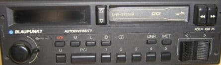 (83-85) BLAUPUNKT KOLN IQR 25 Radio Cassette  PORSCHE MASERATI  FERRARI ROLLS