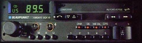 (85-88) BLAUPUNKT TORONTO SQR 45 Stereo Radio Cassette  *MINT-WARRANTY*  PORSCHE ASTON MARTIN