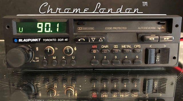 (86-88) BLAUPUNKT  TORONTO SQR 46 Vintage Radio Cassette PORSCHE 911 930 SC TARGA TURBO 924 928