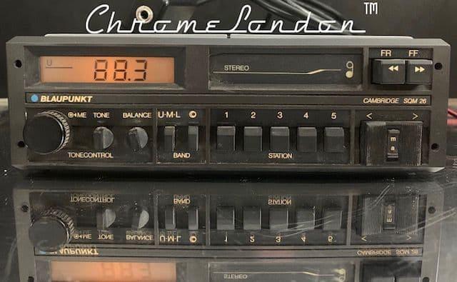 (86-89) BLAUPUNKT CAMBRIDGE SQM26 Stereo Radio Cassette +MP3 WARRANTY PORSCHE BMW MERCEDES ROLLS