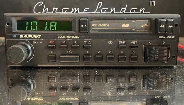 (86-89) BLAUPUNKT KOLN IQR 47 Stereo Radio Cassette  *MINT-WARRANTY*  PORSCHE ROLLS BMW  MERCEDES