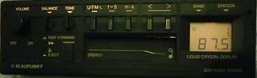 (88-89) BLAUPUNKT SAN REMO SQM 29  US Radio Cassette  PORSCHE MASERATI  FERRARI ROLLS