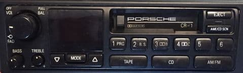 (93-97) PORSCHE CR-1 US/ROW AM FM RADIO CASSETTE - 993 964 928 968 944