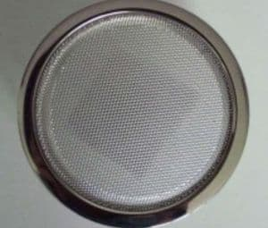 2x CHROME GRILL AND CO AXIAL TWO WAY LOUDSPEAKER 5