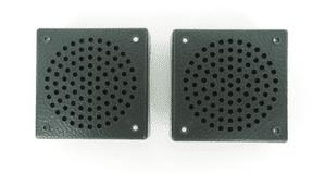 2x FOOTWELL LOUDSPEAKER STEREO NEW PAIR - MERCEDES W113, W108, W114 & UNIVERSAL