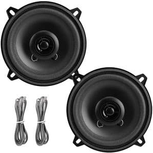 2x LOUDSPEAKER CO AXIAL TWO WAY 4